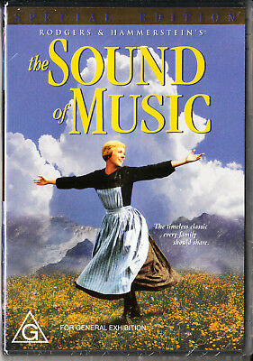 The Sound Of Music Dvd=2 Disc Special Edition=Region 4 Aust Release=New & Sealed