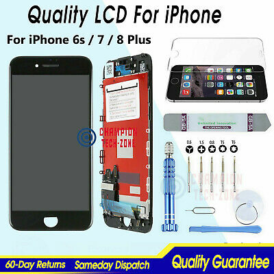 For iPhone6s 7 8 Plus LCD Screen Touch Digitizer Full Assembly Replacement+Tools