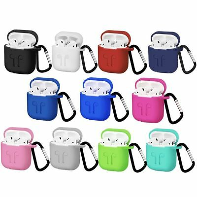 Silicone Case Cover Holder For Apple Air Pod Airpods Charging Case Key Chain