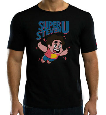 Super Steven Universe T-Shirt Retro Gaming Style Men's & Kids Sizes