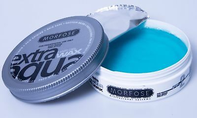 MORFOSE EXTRA AQUA HAIR GEL WAX POMADE 175ml BUBBLEGUM SCENT STRONG HOLD SHINE