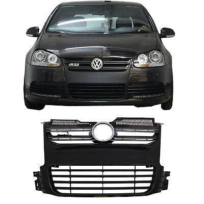 For  VW Golf 5 V 2003-2009 R32 Front Grille Design Piano Black