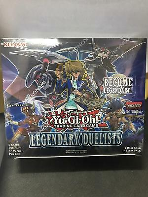 New Factory Sealed Yu-Gi-Oh! Legendary Duelists English Edition x1