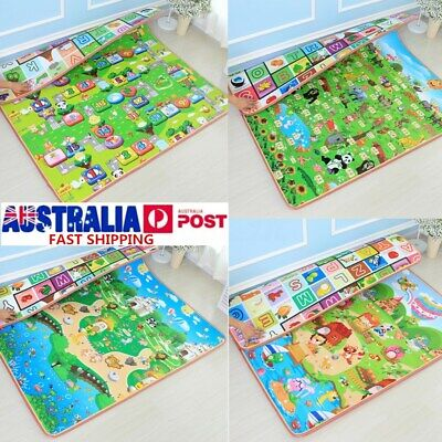 15mm 2mx1.8m Thick Baby Play Mat Floor Rug Cushion Crawling Picnic Blanket AU