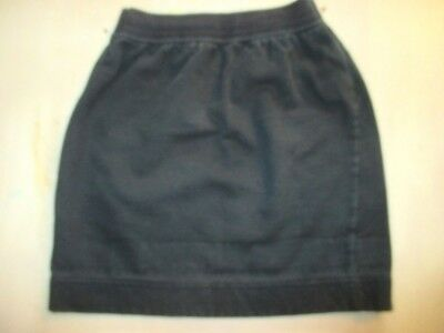 VINTAGE 1990's MARKS & SPENCER  GIRLS BLACK  SKIRT  AGE 5-6 YEARS WAIST 56 CM
