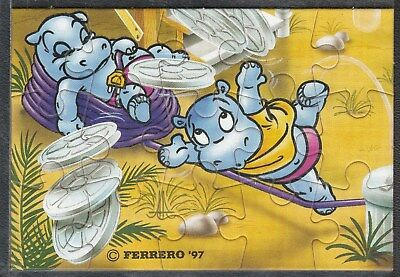 Puzzle Happy Hippo Hollywood Stars - 1997 - Ecke UL  | mit BPZ in Hülle