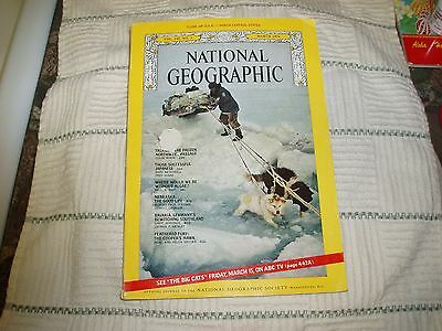 National Geographic - March, 1974 Vintage Back Issue