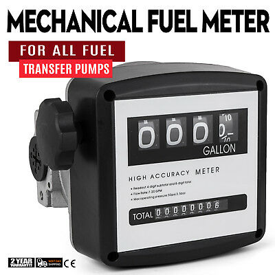 """1"""" Mechanical Fuel Meter for All  Fuel Transfer Pumps  5-30 GPM ±1% Accuracy"""