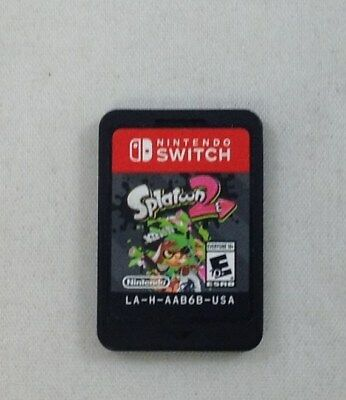 Splatoon 2 (Nintendo Switch, 2017) (Game Only) (7805-SM72)