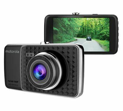 "Motorola MDC400 HD Dash Cam Dasboard Camera 4"" 4inch Night Vision Motion Sensor"