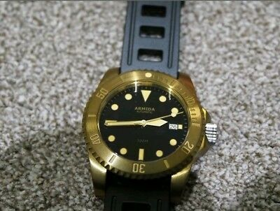 Armida A8 300 Meters Brass Divers Watch....Awesome👍