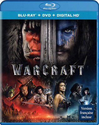Warcraft (Blu-Ray + Dvd) (Blu-Ray) (Bilingual) (Blu-Ray)