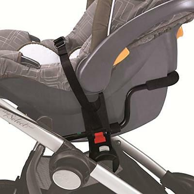 Baby Jogger City Mini ZIP Single Stroller Car Seat Adapter for Chicco/Peg Perego