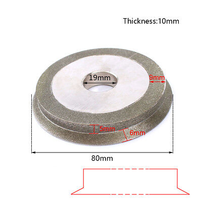 3Inch Electroplated Diamond Cutter Grinding Polishing Wheel For Metal Jewelry