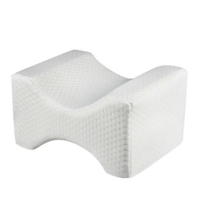 Memory Foam Leg Pillow Cushion Knee Support Pain Relief Shaping Washable Cover