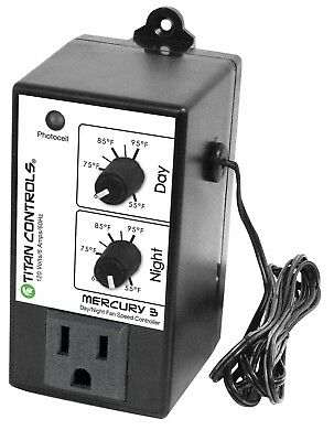 Titan Controls Mercury 3 Multi Mode Fan Speed Controller Safety Activation