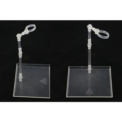 3PCS 1//6 Scale Y-shaped Stand Holder Show Base in Black For 12/'/' Action Figure