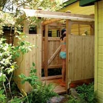 Build your Outdoor Shower Plan  -  Free Shipping