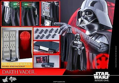 Hot Toys Star Wars : Rogue One Darth Vader 1/6Th Scale Figure Mms388 New/mint
