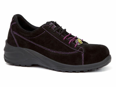MENS WOMENS SIEVI ZONE PLUS METAL FREE COMPOSITE S3 SAFETY SHOES TRAINERS BLACK