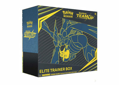 Pokemon Trading Card Game Sun & Moon Team Up Elite Trainer Box New/Sealed