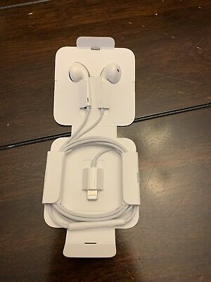 New Apple - Lightning EarPods Earbuds Headset - For iPhone X XS Max XR 8 7 Plus