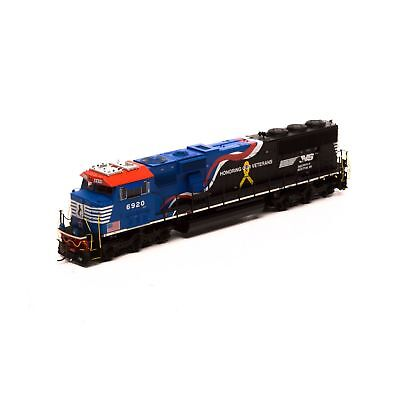 """Athearn Genesis G65254 Ho Norfolk Southern """"honor Our Veterans Dcc Sound #6920"""