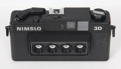 Nimslo Stereo camera 3d - working, film tested