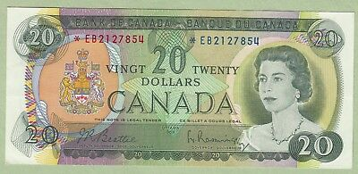 1969 Bank of Canada 20 Dollar Note - Beattie/Rasminsky - *EB2127854 - UNC
