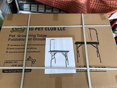 Go Pet Club Pet Grooming Table ( New ) Model 102 36X24X31