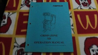 ***Namco Crisis Zone SD Operations Manual***