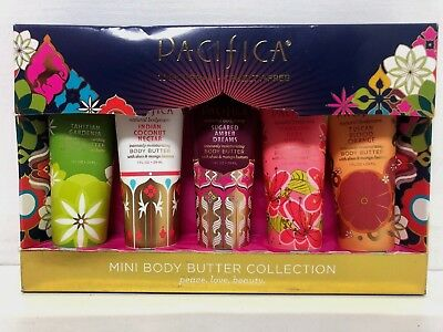 b0e3fc3c62 Pacifica x5 Mini vegan Body Butter Collection Gift Set Moisturiser cruelty  free