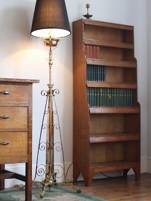 Arthur W Simpson and the Handicrafts arts and crafts waterfall bookcase