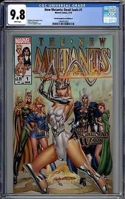 NEW MUTANTS Dead Souls #1 J Scott Campbell Cover B  CGC 9.8  X-Men