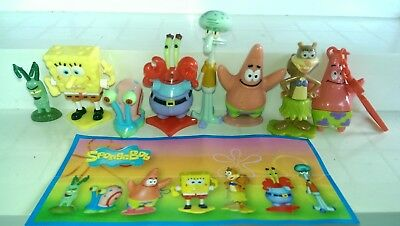 Kinder 2012, Spongebob, Sponge Bob, Austria, compl. set with all Bpz.