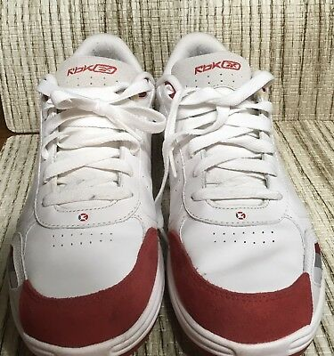 49cb62bea574a9 VINTAGE REEBOK G unit Red   White Sneakers Mens Size 12 -  74.99 ...