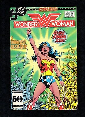 Wonder Woman #329  Last issue of 1st Series DC Comics 1986 See Images A5