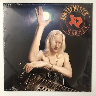 "JOHNNY WINTER The King of Slide 12"" Red Vinyl LP RSD20178 LIVE 180g SEALED"