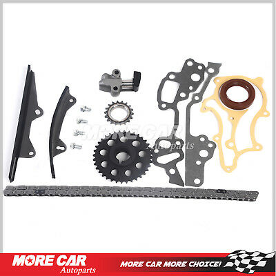 FOR 85-95 2 4L Toyota 22RE Timing Chain Kit (w/ 2 Heavy Duty