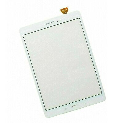 For Samsung Galaxy Tab A 9.7 SM-T550 SM-T555 White Touch Screen Digitizer Glass