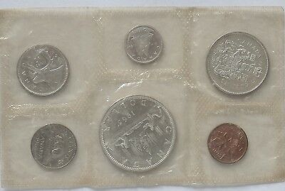 Canada 1965 Mint Set.Royal Canadian Mint Sealed(LotE11181118)Free Regist.Post