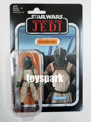 "Hasbro STAR WARS 3.75"" The Vintage Collection KLAATU (SKIFF GUARD) action figure"