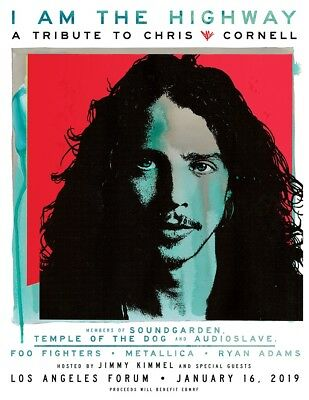 (2) HARD TICKETS for $450 for I am the Highway: A Tribute to Chris Cornell