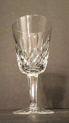 """Vintage Waterford Crystal Lismore Water Glass/goblet  6 7/8"""" Made In Ireland"""