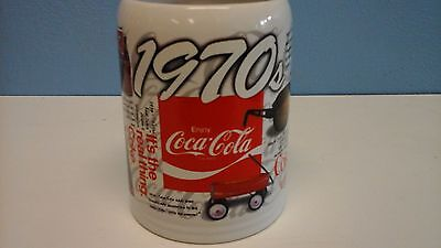 "Coca Cola ""1970's"" Collectable Mug 1996 by Enesco"