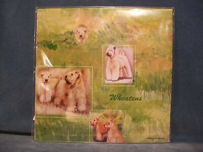 Soft Coated Wheaten Terrier Gift Wrapping Paper With Gift Card Ruth Maystead