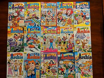 World Of Archie Comics ..Lot of 15.. 1992-1996