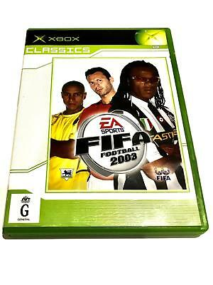 FIFA FOOTBALL 2003, (XBOX PAL, PRE-OWNED) Free Postage.