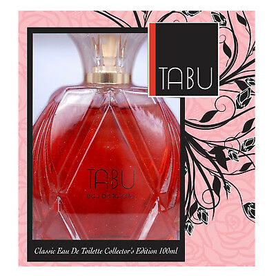 Womens Tabu By Dana EDT Eau De Toilette Spray Perfume Fragrance 100ml