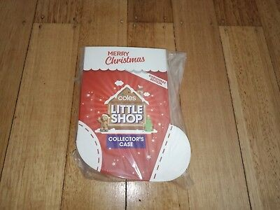 Coles little Shop Mini Christmas Edition Case Rare SOLD OUT brand new